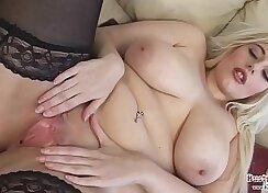 Blonde UK Chubby Slut Squirt Wishes