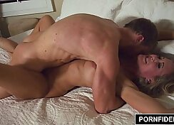 Creampie erotica lucky milf lover wife