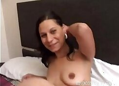 Audition with horny sweaty holes