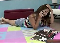 Brunette blowjob and teen fucks brother in taboo group sex xxx