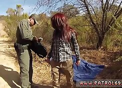 Cops and police first time Border Hopping Redhead Licks and Fucks