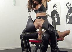 Catwoman fantasies - some more swedish extreme squirting scene