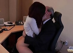 Young Boss Rams An Big Dick in the Office