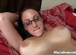 Taan in glasses fucked hard on mycollegrule