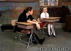 Another freaky schoolgirl bdsm submissive bitch