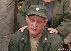 Army Sex Retro makes you horny toits