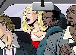 Bit Juicy Interracial Cartoon Visionere
