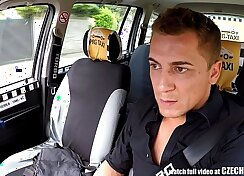 Blonde Aubrey in the fake taxi vp