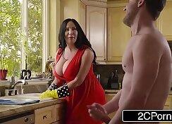 Big Titty BBW Ebony Rides Big Moroccan CockSprayed With Cum