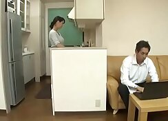 Cheating Wife With Trio Japanese Stud Rocco
