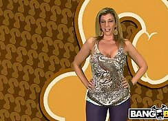 Busty Milf Sara Jay Flashes And Suck Big Cocks